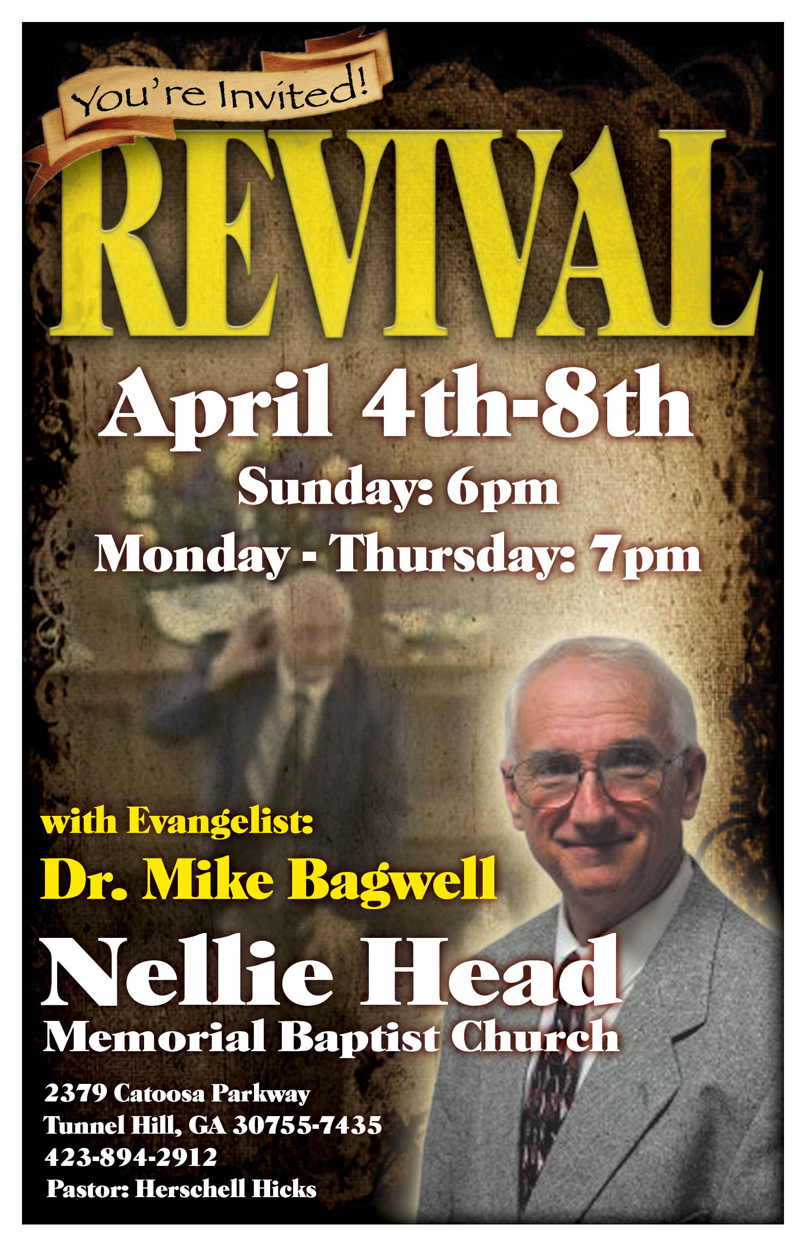 bagwell revival flyers tri state independent baptist preachers bagwell revival flyers