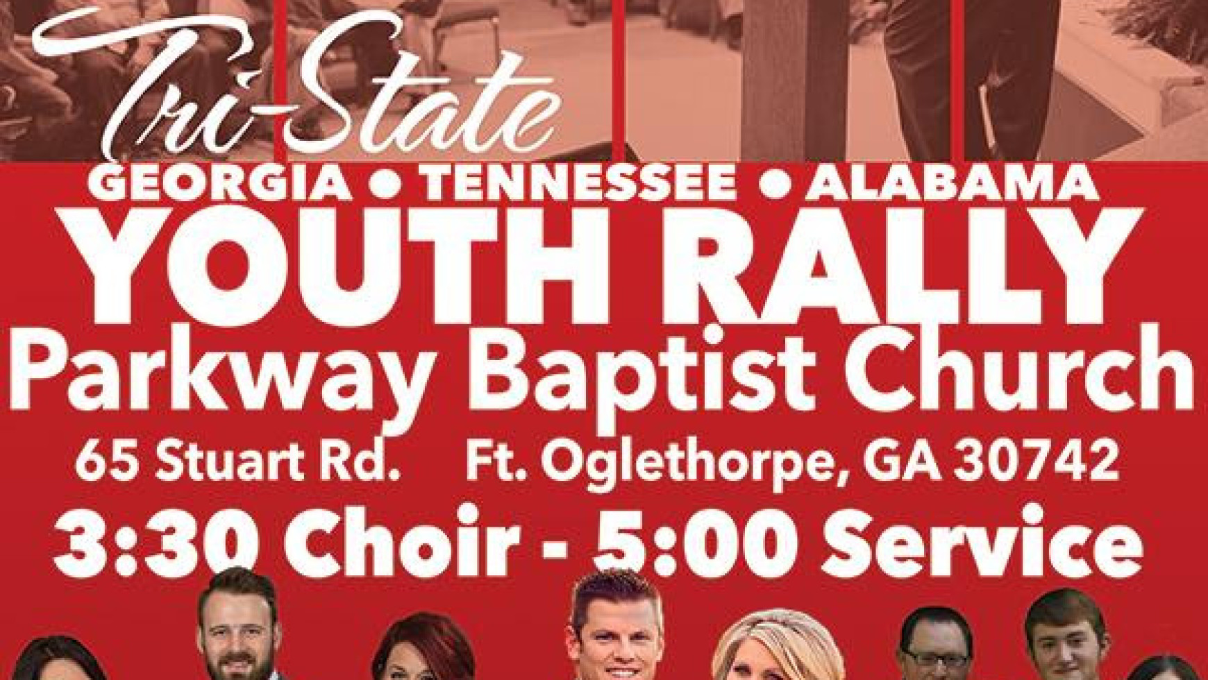 Area Meeting: Tri-State Youth Rally – Parkway Baptist Temple – Fort Oglethorpe, GA