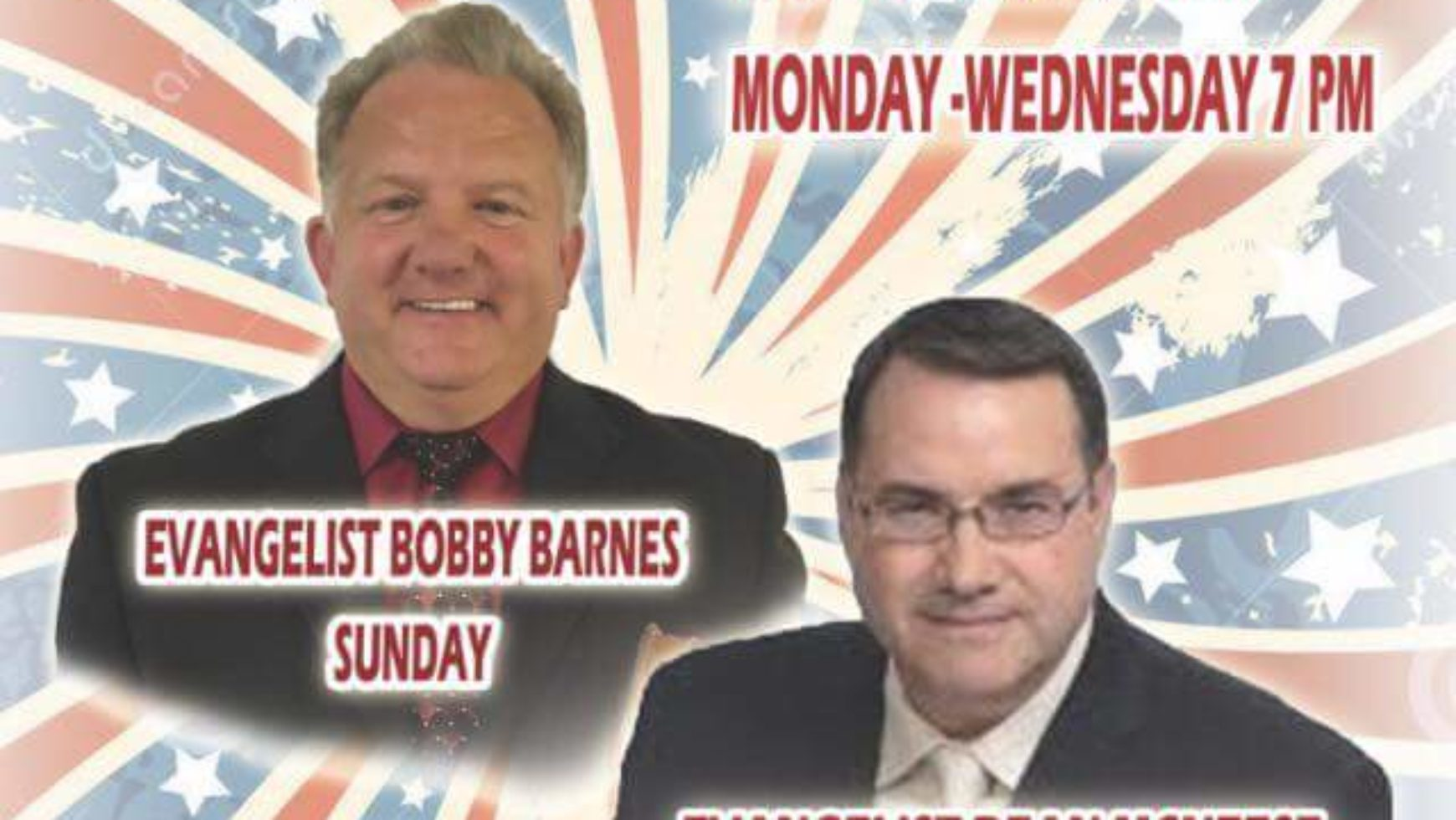Area Meeting: Revival – Deep Springs Baptist Church – Dalton, Ga
