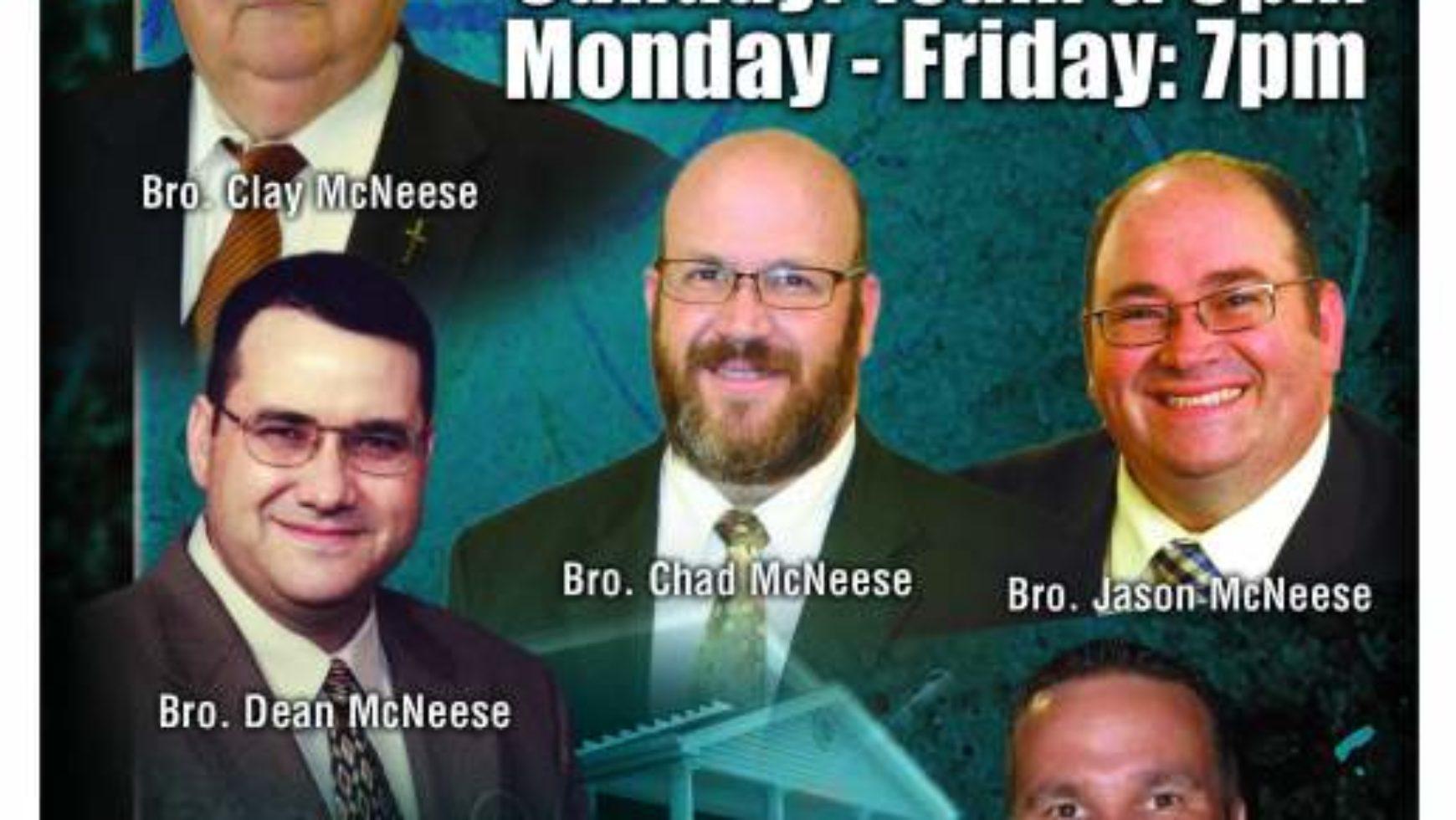 Area Meeting: Revival – Lupton Drive Baptist Church – Chattanooga, TN
