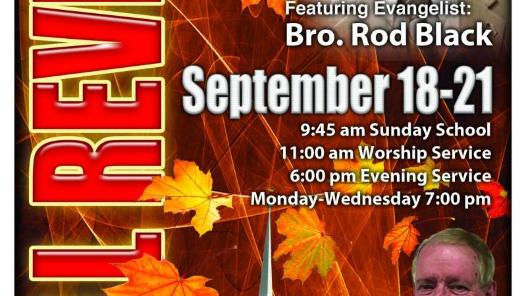 Area Meeting: Fall Revival Services – Life Gate Baptist Church – Hixson, TN