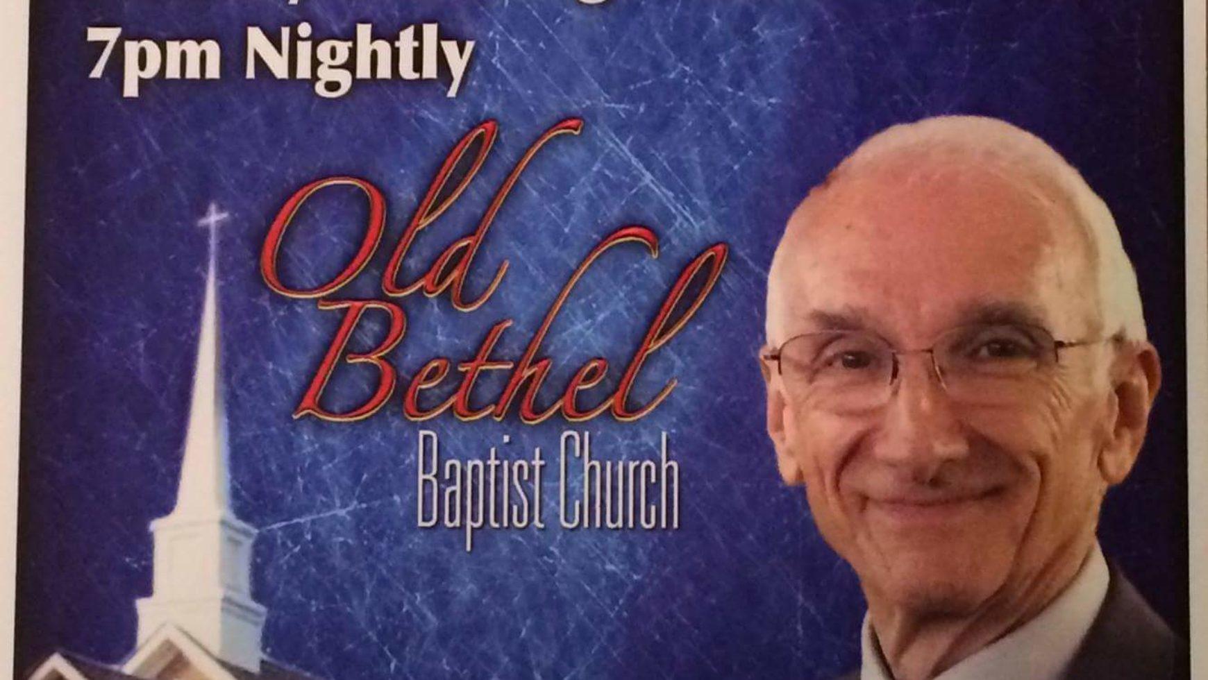 Area Meeting: Revival – Old Bethel Baptist Church – Chickamauga, Ga