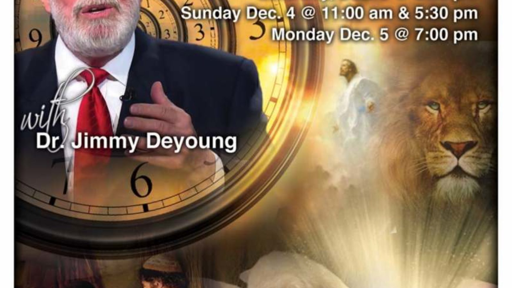 Area Meeting: Prophecy Conference – New Life Baptist Church – Dalton, Ga