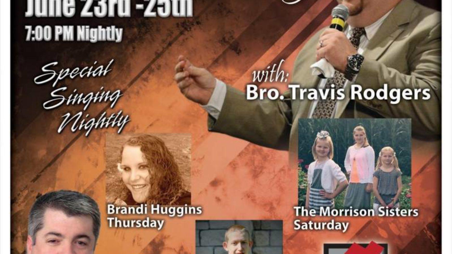 Area Meeting: Youth Revival – Honestville Baptist Church – Ooltewah, TN
