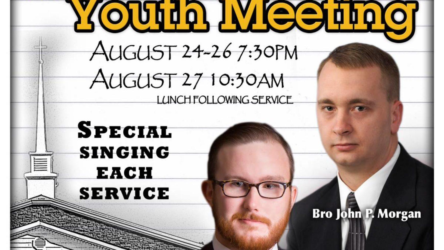 Area Meeting: Youth Meeting – White Graves Baptist Church – Ranger, Ga
