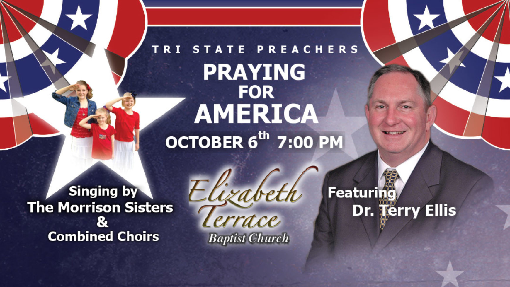 2016 October Meeting – Special Pray For America Rally – Rossville, GA.