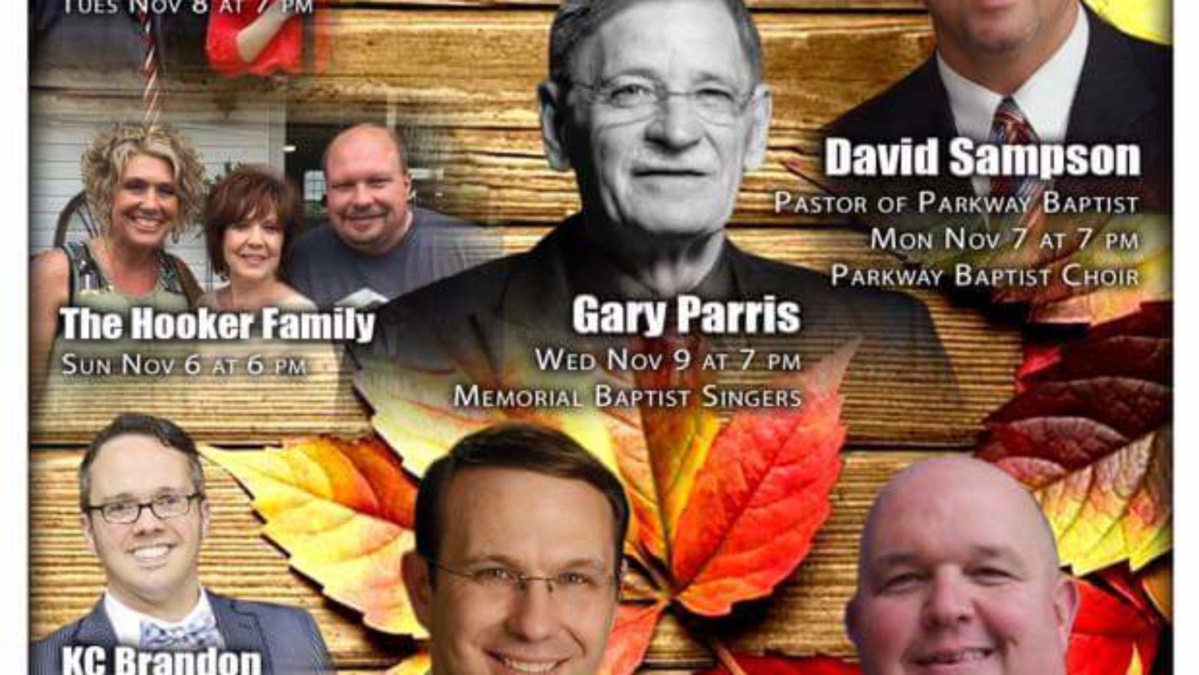 Area Meeting: Revival – Memorial Baptist Tabernacle – Rossville, Ga