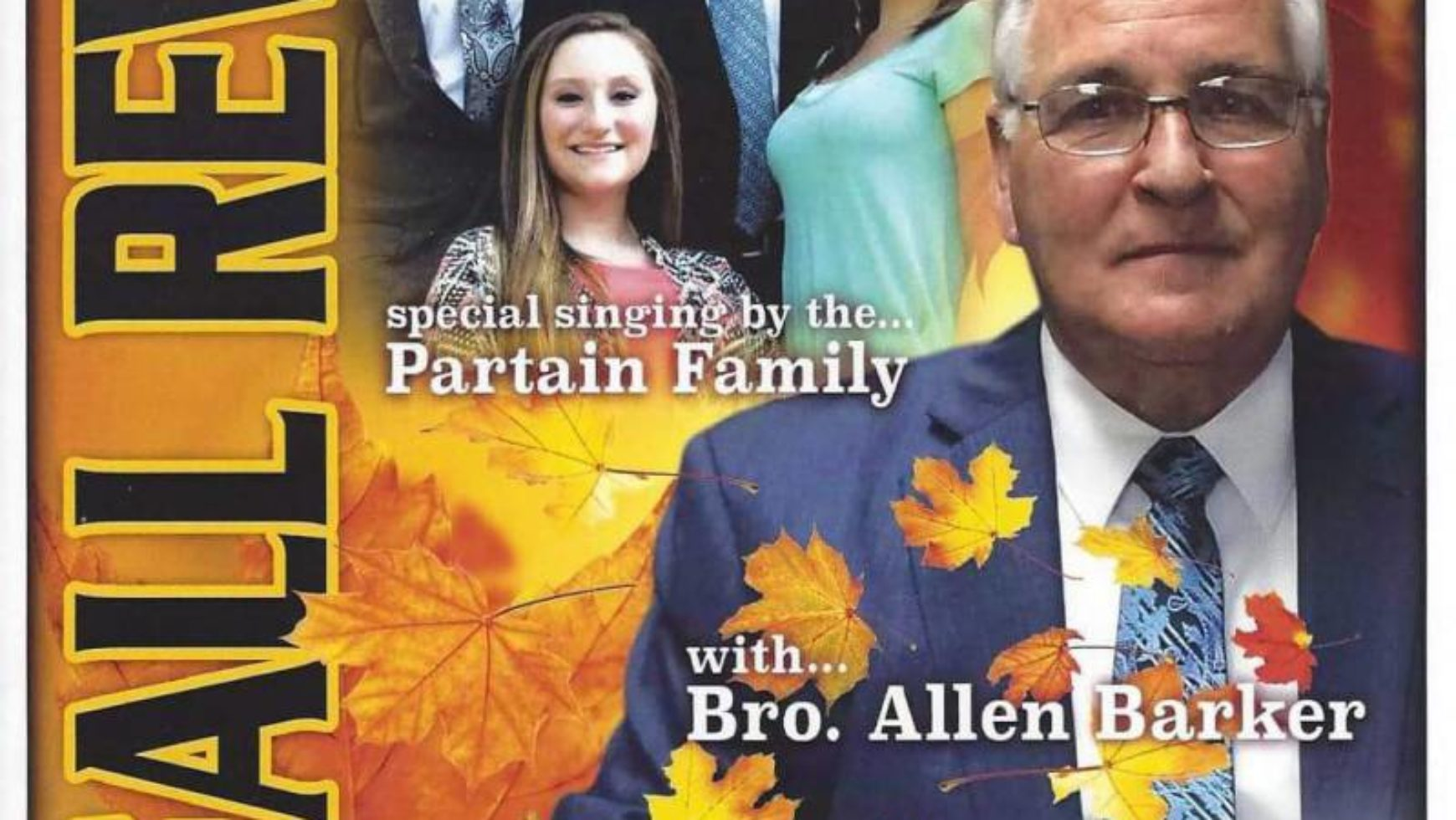 Area Meeting: Fall Revival – Nellie Head Memorial Baptist Church – Tunnel Hill, Ga