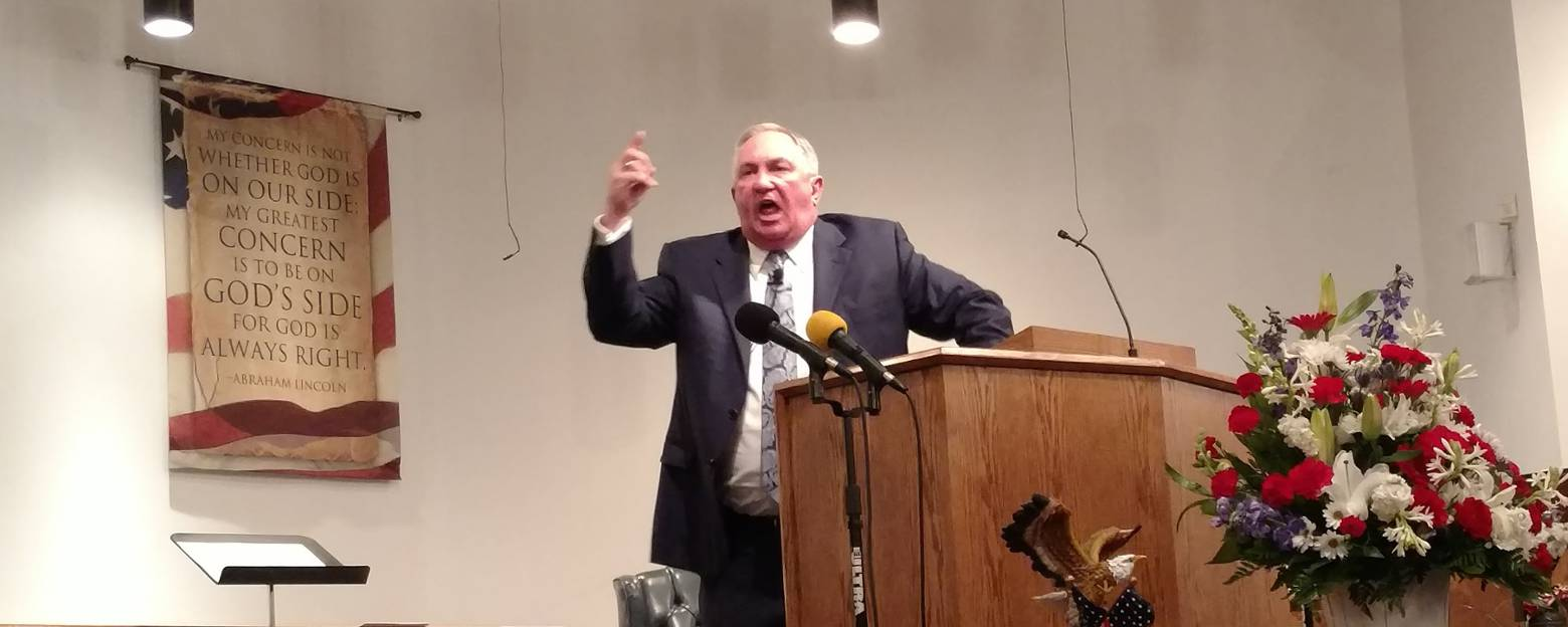 Dr. Terry Ellis – Blessed Is The Nation Whose God Is The LORD